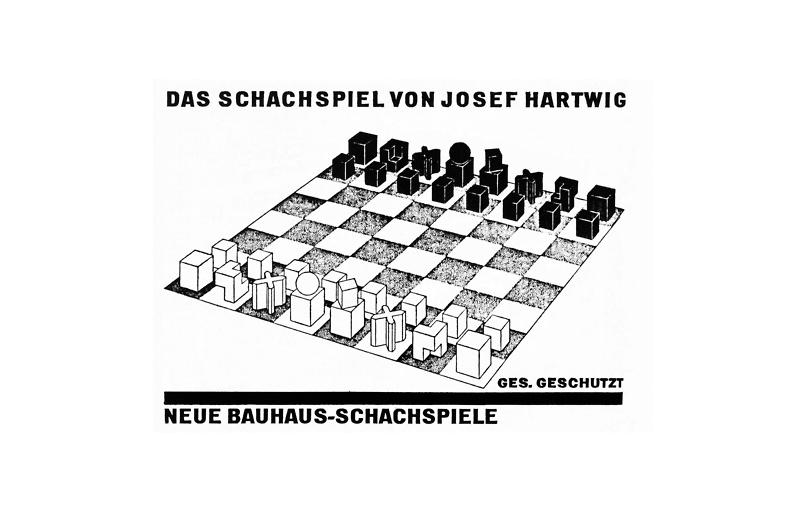 Bauhaus Chess set Chulavista 4