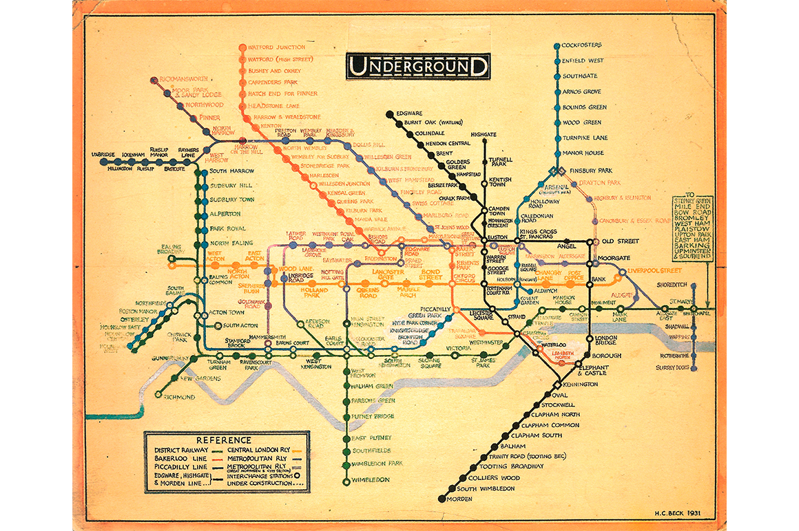 Tube Map by Chulavista 1