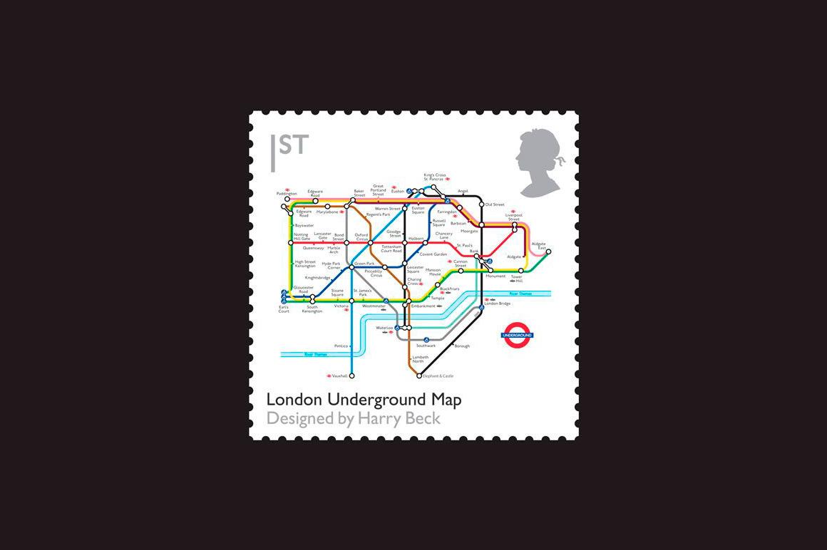 Tube Map by Chulavista 2