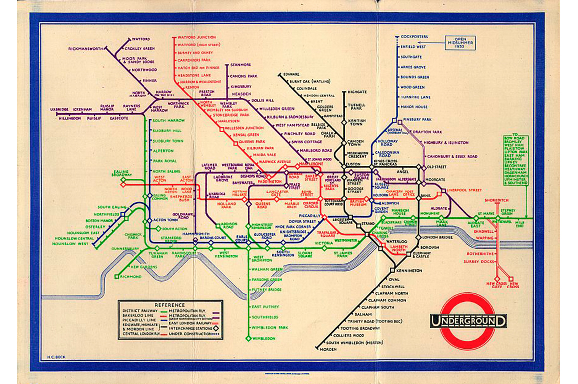 Tube Map by Chulavista 3
