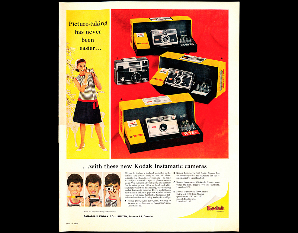 Instamatic de Kodak 3