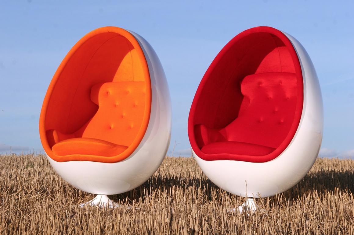 Silla diseñada por Eero Aarnio en 1968.