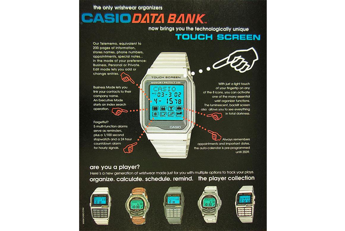 Reloj Calculadora Casio Databank 2
