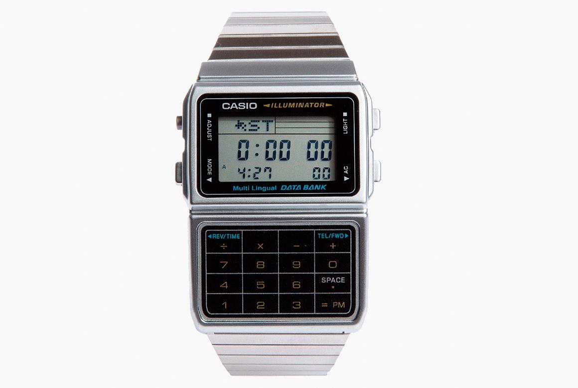 Reloj Calculadora Casio Databank 3