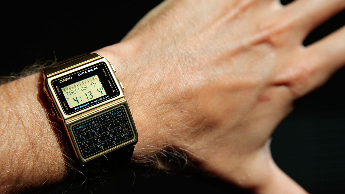 Reloj Calculadora Casio Databank