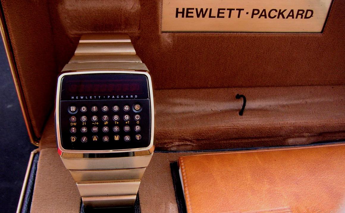 Reloj Calculadora HP-01 2