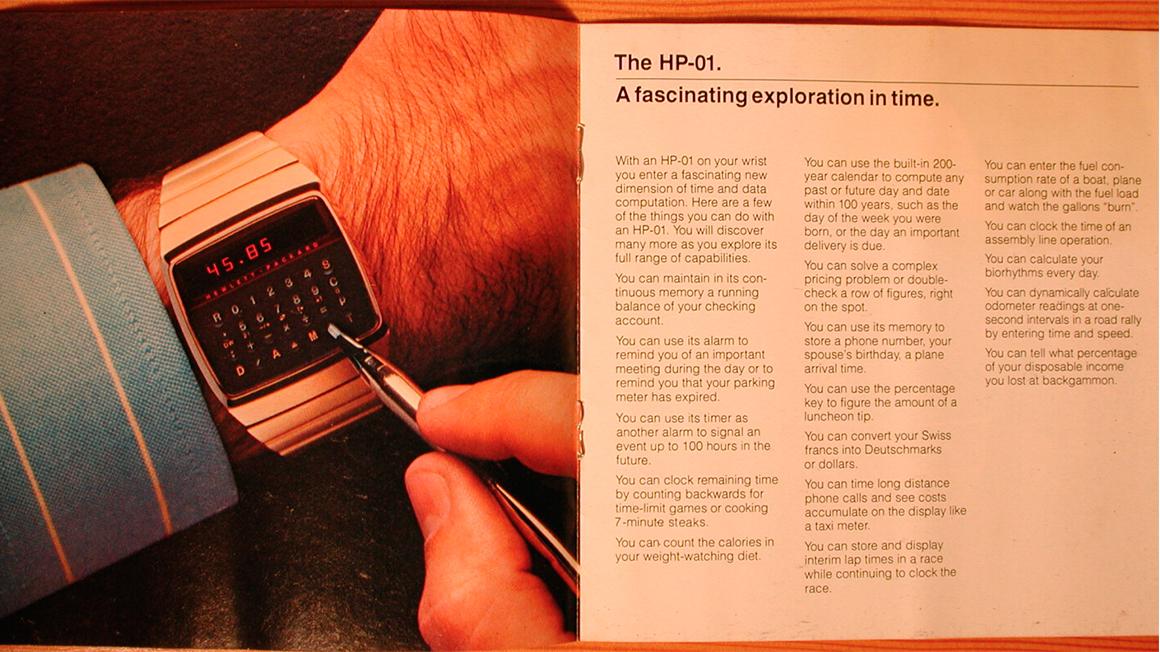 Reloj Calculadora HP-01 3