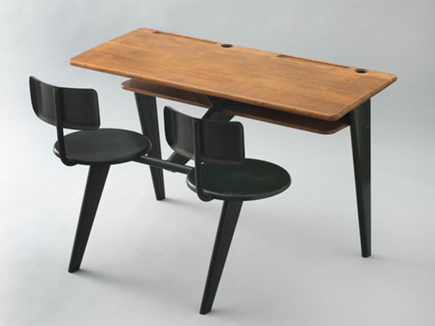 School desk Jean Prouve 1